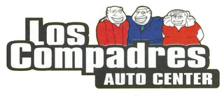 mark for LOS COMPADRES AUTO CENTER, trademark #78936506