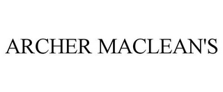 mark for ARCHER MACLEAN'S, trademark #78936536