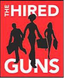 mark for THE HIRED GUNS, trademark #78937701