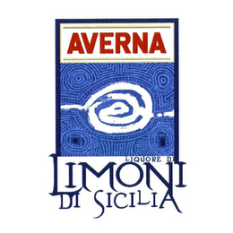 mark for AVERNA LIMONI DI SICILIA LIQUORE DI, trademark #78938070