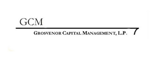 mark for GCM GROSVENOR CAPITAL MANAGEMENT, L.P., trademark #78938293