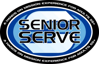 mark for S SENIOR SERVE A HANDS ON MISSION EXPERIENCE FOR ADULTS 55+, trademark #78938701