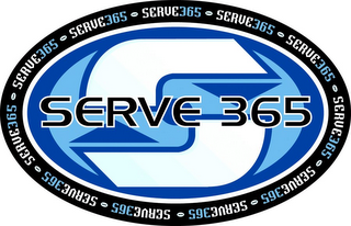 mark for S SERVE 365 SERVE365, trademark #78938766