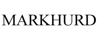 mark for MARKHURD, trademark #78939784