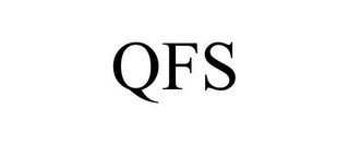 mark for QFS, trademark #78940185