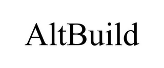 mark for ALTBUILD, trademark #78940759