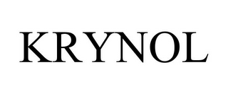 mark for KRYNOL, trademark #78940830