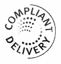mark for COMPLIANT DELIVERY, trademark #78942014