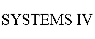 mark for SYSTEMS IV, trademark #78943094