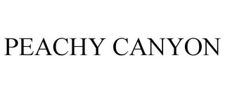 mark for PEACHY CANYON, trademark #78943526
