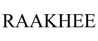 mark for RAAKHEE, trademark #78943905