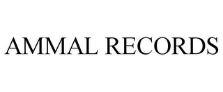 mark for AMMAL RECORDS, trademark #78946252
