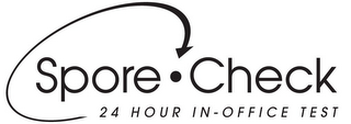 mark for SPORE CHECK 24 HOUR IN-OFFICE TEST, trademark #78949070
