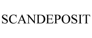 mark for SCANDEPOSIT, trademark #78949199