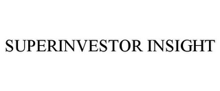 mark for SUPERINVESTOR INSIGHT, trademark #78949885