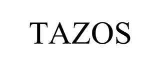 mark for TAZOS, trademark #78950164