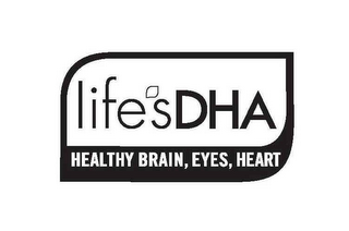 mark for LIFE'S DHA HEALTHY BRAIN, EYES, HEART, trademark #78951186