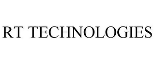 mark for RT TECHNOLOGIES, trademark #78952245