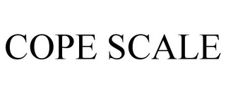 mark for COPE SCALE, trademark #78952325