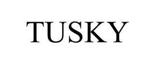 mark for TUSKY, trademark #78954344