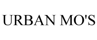 mark for URBAN MO'S, trademark #78955118