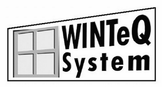mark for WINTEQ SYSTEM, trademark #78956670