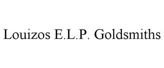 mark for LOUIZOS E.L.P. GOLDSMITHS, trademark #78958785