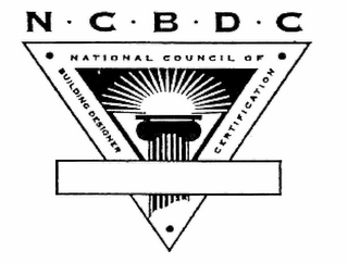 mark for N · C · B · D · C NATIONAL COUNCIL OF · BUILDING DESIGNER · CERTIFICATION, trademark #78959306