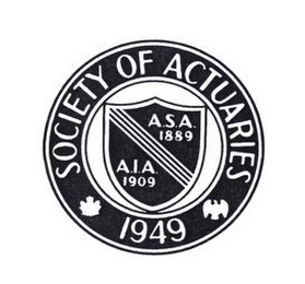 mark for SOCIETY OF ACTUARIES 1949 A.S.A. 1889 A.I.A. 1909, trademark #78960400