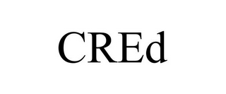 mark for CRED, trademark #78960695
