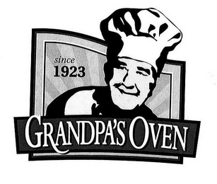 mark for GRANDPA'S OVEN SINCE 1923, trademark #78960906
