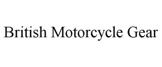 mark for BRITISH MOTORCYCLE GEAR, trademark #78961245