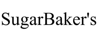mark for SUGARBAKER'S, trademark #78962099