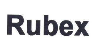 mark for RUBEX, trademark #78962528