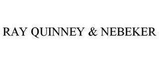 mark for RAY QUINNEY & NEBEKER, trademark #78963023