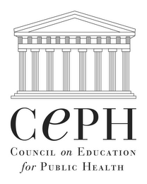 mark for CEPH COUNCIL ON EDUCATION FOR PUBLIC HEALTH, trademark #78964381