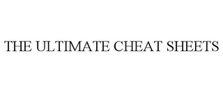 mark for THE ULTIMATE CHEAT SHEETS, trademark #78965775