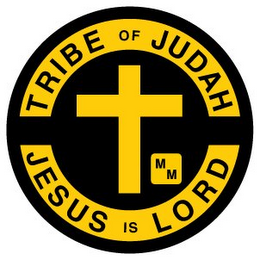 mark for TRIBE OF JUDAH MM JESUS IS LORD, trademark #78968073
