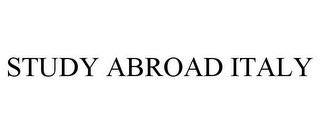mark for STUDY ABROAD ITALY, trademark #78968409