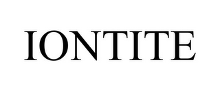 mark for IONTITE, trademark #78968616