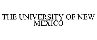 mark for THE UNIVERSITY OF NEW MEXICO, trademark #78968817