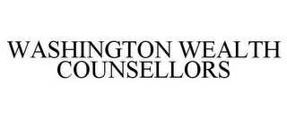 mark for WASHINGTON WEALTH COUNSELLORS, trademark #78970105