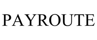 mark for PAYROUTE, trademark #78971367