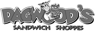 mark for DAGWOOD'S SANDWICH SHOPPES, trademark #78971418