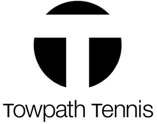mark for T TOWPATH TENNIS, trademark #78971580