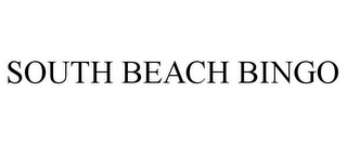 mark for SOUTH BEACH BINGO, trademark #78972801
