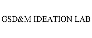 mark for GSD&M IDEATION LAB, trademark #78973546