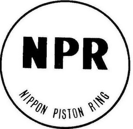 mark for NPR NIPPON PISTON RING, trademark #78974091