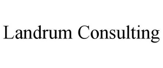 mark for LANDRUM CONSULTING, trademark #78974829
