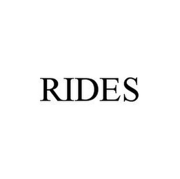 mark for RIDES, trademark #78976304